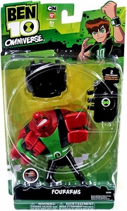 Ben 10 Omniverse 6 Inch DELUXE Action Figure Fourarms