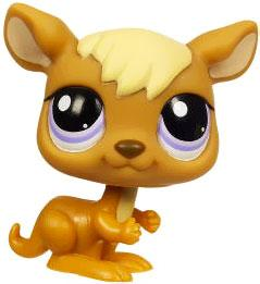 Littlest Pet Shop LOOSE Figure Kangaroo