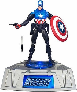 Marvel Universe Exclusive Comic Series Figure With Light Up Base Captain America [Bucky Barnes]