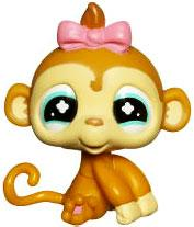 Littlest Pet Shop LOOSE Figure Monkey