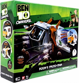 Ben 10 Omniverse Deluxe Vehicle Rook's Proto-Truk [Exclusive Translucent Rook Action Figure]