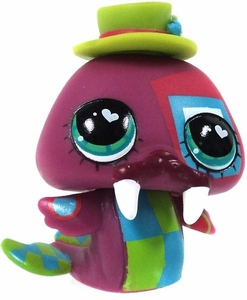 Littlest Pet Shop LOOSE Figure Grey Extreme Walrus