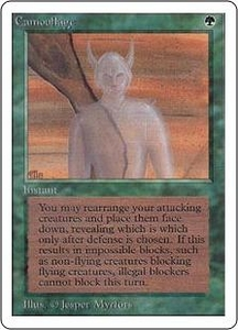 Magic the Gathering Unlimited Edition Single Card Uncommon Camouflage