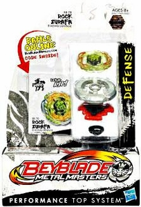Beyblades Metal Masters Defense Battle Top #BB78 Rock Zurafa