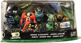 Ben 10 Exclusive Action Figure 5-Pack Azmuth, Haywire Eatle, Haywire Lodestar, Haywire Clockwork & Haywire Rath [Set 2 of 2]