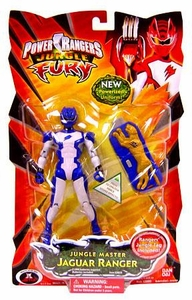 Power Rangers Jungle Fury Action Figure Jungle Master Jaguar Ranger[Blue]