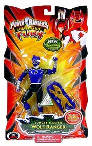 Power Rangers Jungle Fury Action Figure Jungle Master Wolf Ranger [Purple]