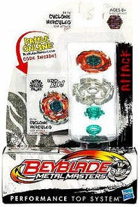 Beyblades Metal Masters Attack Battle Top #BB94 Cyclone Herculeo