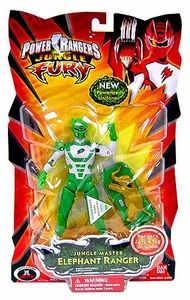 Power Rangers Jungle Fury Action Figure Jungle Master Elephant Ranger [Green]
