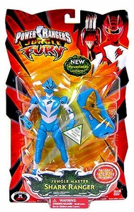 Power Rangers Jungle Fury Action Figure Jungle Master Shark Ranger [Light Blue]