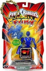 Power Rangers Jungle Fury Action Figure Savage Spin Jaguar Ranger [Dark Purple]