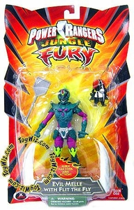 Power Rangers Jungle Fury Action Figure Evil Melle with Flit the Fly