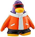 Disney Club Penguin 2 Inch Mini Figure Snowboarder