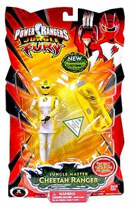 Power Rangers Jungle Fury Action Figure Jungle Master Cheetah Ranger [Yellow]