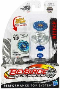 Beyblades Metal Masters Attack Battle Top #BB01 Cyber Pegasus [Legend]