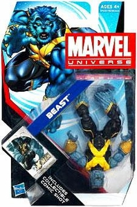 Marvel Universe 3 3/4 Inch Series 18 Action Figure #10 Beast [Upside Down]