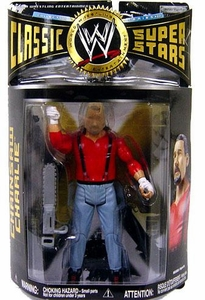 WWE Wrestling Classic Superstars Series 22 Action Figure Chainsaw Charlie Terry Funk