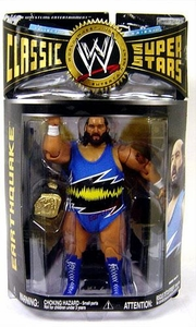 WWE Wrestling Classic Superstars Series 22 Action Figure Earthquake [Blue Attire]