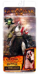 NECA God of War Video Game Action Figure Series 1 Kratos in Golden Fleece Armor