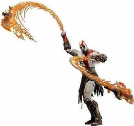 NECA God of War Video Game Action Figure Series 1 Kratos with Blades of Chaos