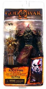 NECA God of War 2 Video Game Action Figure Series 1 Kratos with Ares Armor [Version 1]