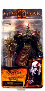 NECA God of War 2 Video Game Action Figure Series 1 Kratos with Ares Armor [Version 2]