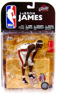 McFarlane Toys NBA Sports Picks Series 16 [2009 Wave 1] Action Figure LeBron James (Cleveland Cavaliers)