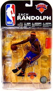 McFarlane Toys NBA Sports Picks Series 16 [2009 Wave 1] Action Figure Zach Randolph (New York Knicks)
