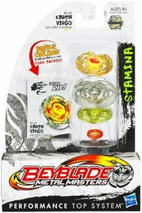 Beyblades Metal Masters Stamina Battle Top #BB60 Earth Virgo