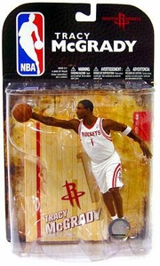 McFarlane Toys NBA Sports Picks Series 16 [2009 Wave 1] Action Figure Tracy McGrady (Houston Rockets) White Jersey