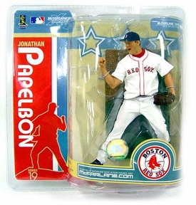 McFarlane Toys MLB Sports Picks Series 19 Action Figure Jonathan Papelbon (Boston Red Sox) White Jersey