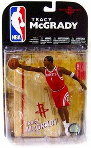 McFarlane Toys NBA Sports Picks Series 16 [2009 Wave 1] Action Figure Tracy McGrady (Houston Rockets) Red Jersey Variant