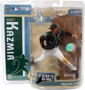 McFarlane ToysMLB Sports Picks Series 19 Action Figure Scott Kazmir (Tampa Bay Devil Rays) Green Jersey