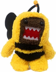 Domo 4 Inch Plush Figure Clip On BumbleBee Domo