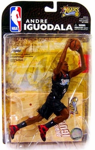 McFarlane Toys NBA Sports Picks Series 16 [2009 Wave 1] Action Figure Andre Iguodala (Philadelphia 76ers) Damaged Package, Mint Contents!!