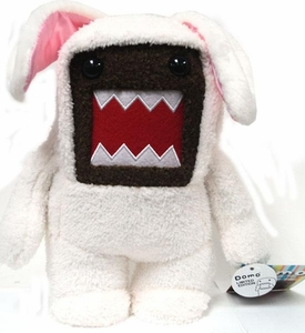 Domo 9 Inch MEDIUM Plush Figure Easter Bunny Domo [White Outfit]