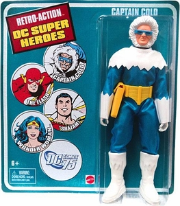 DC Universe World's Greatest Super Heroes Retro Series 3 Action Figure Captain Cold