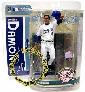 McFarlane Toys MLB Sports Picks Series 19 Action Figure Johnny Damon (Kansas City Royals) Royals Variant