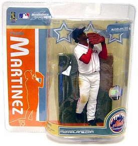 McFarlane Toys MLB Sports Picks Series 19 Action Figure Pedro Martinez (Boston Red Sox) Red Sox Variant