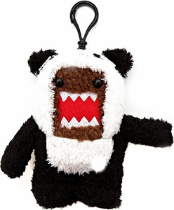 Domo 4 Inch Plush Figure Clip On Domo Panda