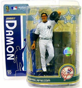 McFarlane Toys MLB Sports Picks Series 19 Action Figure Johnny Damon (New York Yankees) White Jersey