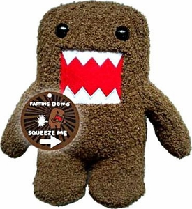 Domo 10 Inch Plush Figure Farting Domo