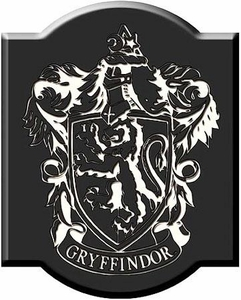 NECA Harry Potter Laser Engraved Wood Plaque Gryffindor