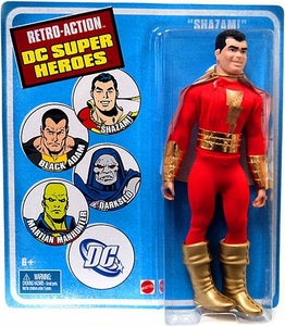 DC Universe World's Greatest Super Heroes Retro Series 4 Action Figure Shazam