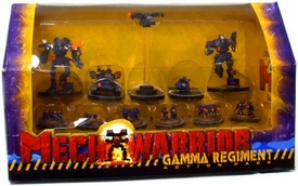 Wizkids Mechwarriors Wolf's Dragoons Gamma Regiment Action Pack