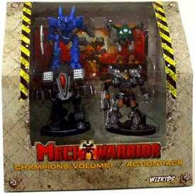 Wizkids Mechwarriors Champions Action Pack Vol 1