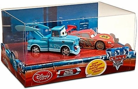 Disney / Pixar CARS TOON Exclusive 1:48 Scale Tokyo Drift 2-Pack Dragon McQueen & Drifting Mater