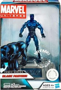 Marvel Universe Exclusive Comic Series Figure With Light Up Base Black Panther