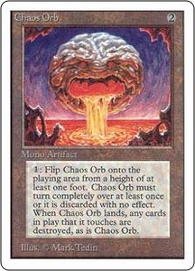 Magic the Gathering Unlimited Edition Single Card Rare Chaos Orb Near/Mint