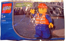 LEGO City Mini Figure Set #3384 Construction Worker